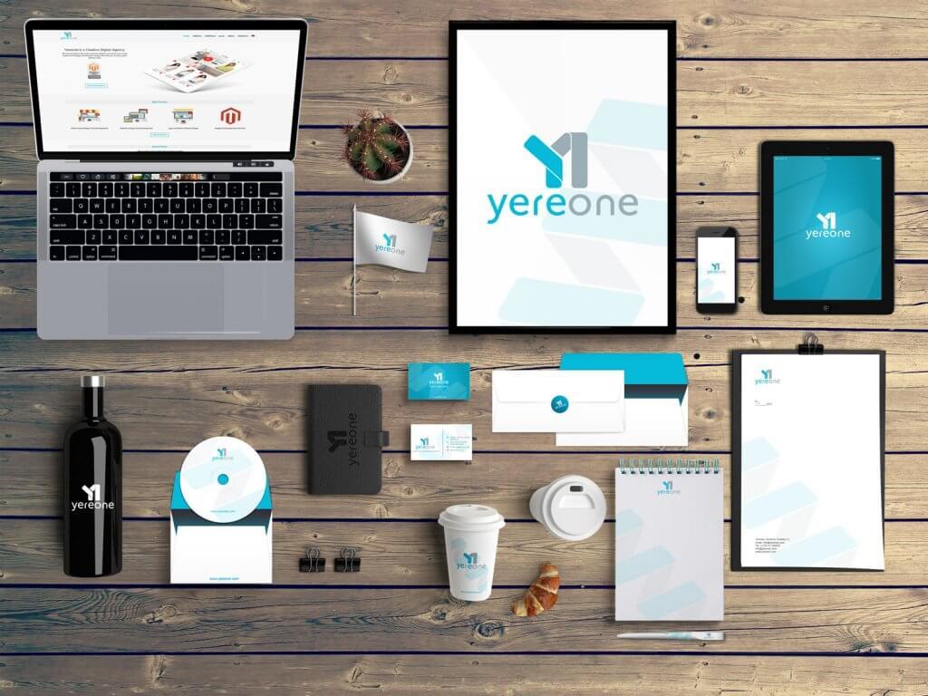 Brand identity and website design